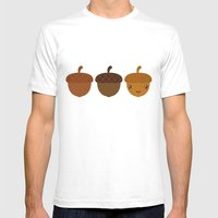 You're An Acorn! Mens Fitted Tee White SMALL