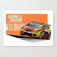 Gabriele Tarquini - 2009… Canvas Print