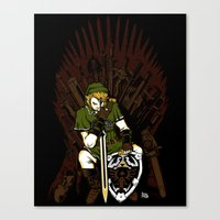 Throne Of Games Canvas Print