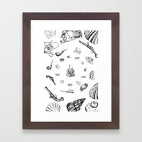 Necke Framed Art Print