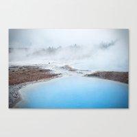 geyser Canvas Print