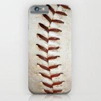 Vintage Baseball Stitchi… iPhone 6 Slim Case