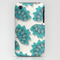 iPhone 3Gs & iPhone 3G Cases featuring Colorful Leaves 3 by Klara Acel
