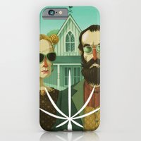 iPhone & iPod Case featuring American Gothic High by Steve Simpson