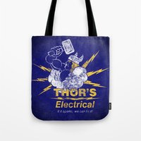 Thor - Thor's Electrical Tote Bag