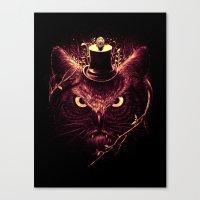 Meowl Canvas Print