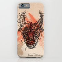 iPhone & iPod Case featuring The Beast by Jonnea Herman