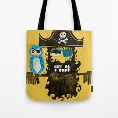 Trendy Pirate  Tote Bag