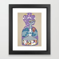 What A Child Thinks Is I… Framed Art Print