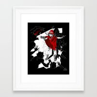 Red Riding Hood Reloaded Framed Art Print