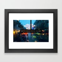 Good Morning Oblivion Ch… Framed Art Print