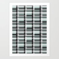 WINDOW-BLUE Art Print