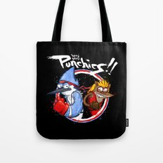 Let's Play PUNCHIES!! Tote Bag