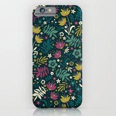 Midnight Florals (pop) iPhone 6 Slim Case