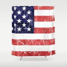 Americana Shower Curtain