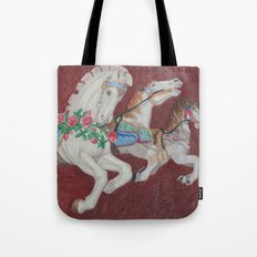 Carousel Race Tote Bag