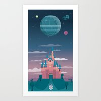 Sleeping Beauty And The … Art Print