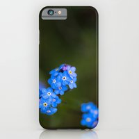 iPhone & iPod Case featuring Forget Me Not by Bailey Aro Photography