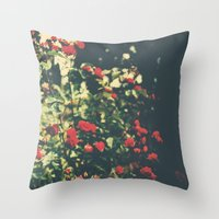 Summer Roses Series  - I -   Throw Pillow