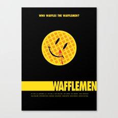 Wafflemen Canvas Print
