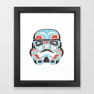 Skull Warrior - Alliance… Framed Art Print