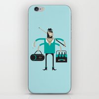 Back To Indie Business iPhone & iPod Skin
