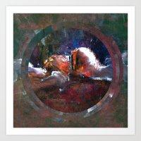 Circle Distortions #4 Art Print