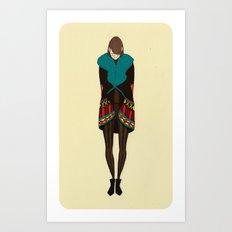 Vanitas Colorful Jacket Art Print