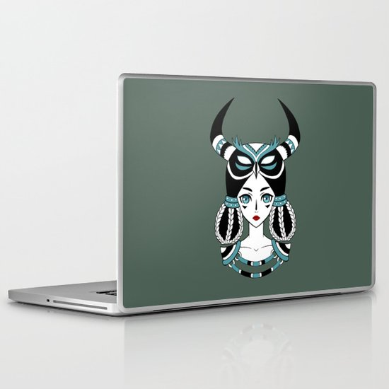 Owl Tribe Laptop & iPad Skin