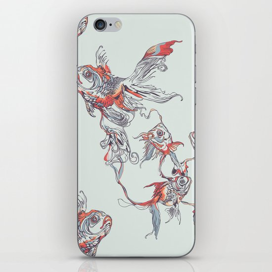Floating in Deep iPhone & iPod Skin