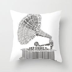 Music just for you Throw Pillow