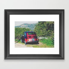 Italy- Umbria-Assisi Framed Art Print