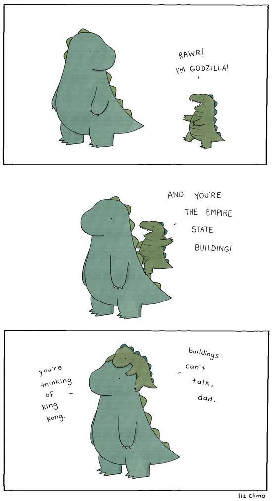 King Godzilla  Art Print