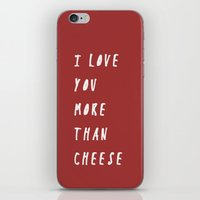 I Love You More Than Che… iPhone & iPod Skin