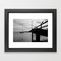 In the bay... Framed Art Print