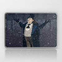 Oswald Cobblepot - The King Penguin Returns! Laptop & iPad Skin