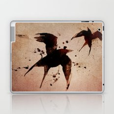 On your fears,  ... swallow them.   Laptop & iPad Skin