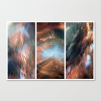 Pull Me Under - Triptych Canvas Print
