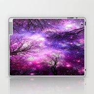 Laptop & iPad Skin featuring Black Trees Fuchsia Purp… by 2sweet4words Designs