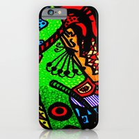 iPhone & iPod Case featuring Lizard Princess by Sumii Haleem