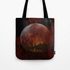 Fisherman's Harvest Moon Tote Bag
