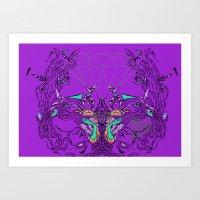 Cuspo-simetrico Art Print