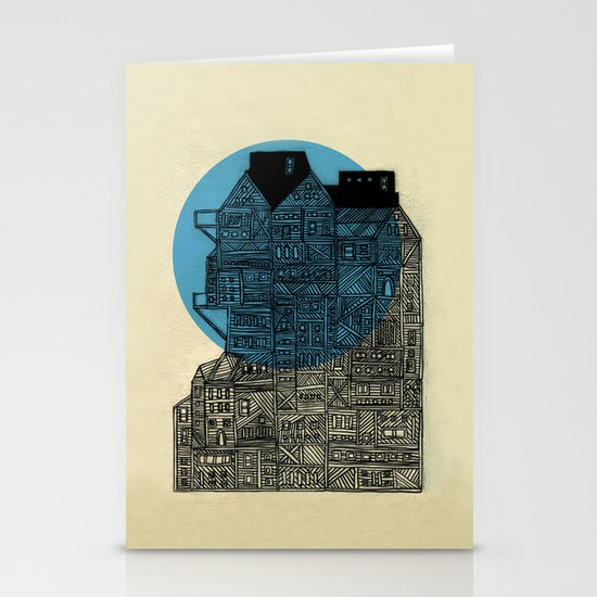 Night vision Stationery Card
