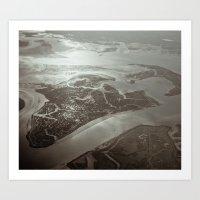 The Land 2 Art Print