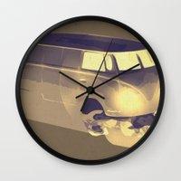 Skull Volkswagen Wall Clock