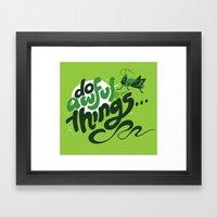 I'm Your @$#!%*& Conscie… Framed Art Print