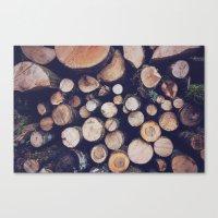 firewood no. 1 Canvas Print