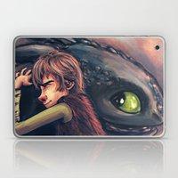 Gift of the Night Fury Laptop & iPad Skin