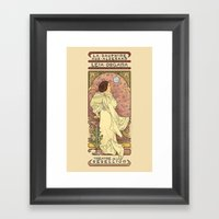 La Dauphine Aux Alderaan Framed Art Print