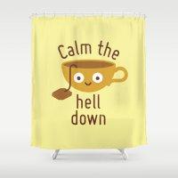 Anxietea Shower Curtain